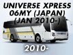 UNIVERSE XPRESS 06MY(JAPAN): JAN.2010-