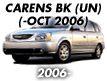 CARENS 06MY: -OCT.2006