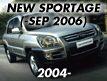 NEW SPORTAGE: -SEP.2006