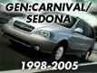 CARNIVAL/SEDONA 98MY