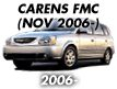 CARENS 06MY: NOV.2006-