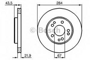 фото: [0986478186] Bosch Диск тормозной , комплект из 2-х шт.