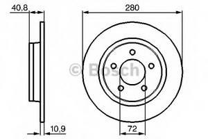 фото: [0986479181] Bosch Диск тормозной , комплект из 2-х шт.