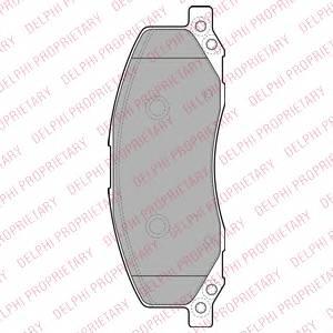 фото: [LP2082] Delphi К-т торм. колодок Fr  Opel Insignia <18