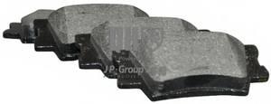 фото: [4863701819] JP Group Колодки тормозные задние комплект на ось