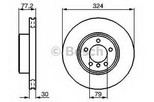 фото: [0986479115] Bosch Диск тормозной
