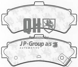 фото: [4063700319] JP Group Колодки тормозные задние комплект на ось