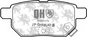 фото: [4863700919] Jp Group Комплект тормозных колодок, дисковый тормоз комплект на ось
