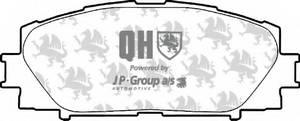 фото: [4863601219] Jp Group Комплект тормозных колодок, дисковый тормоз комплект на ось