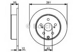 фото: [0986479419] Bosch Диск тормозной , комплект из 2-х шт.