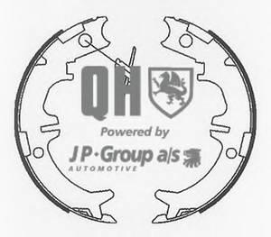 фото: [4863900319] Jp Group Колодки тормозные стояночного тормоза