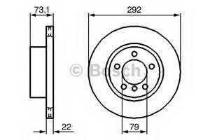 фото: [0986479214] Bosch Диск тормозной