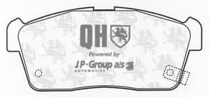 фото: [5263600519] JP Group Колодки тормозные передние комплект на ось