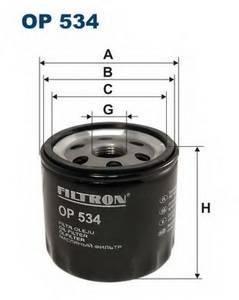 фото: [OP534] Filtron Фильтр масляный