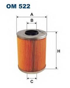 фото: [OM522] Filtron Фильтр масляный