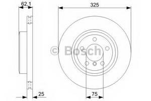 фото: [0986479348] Bosch Диск тормозной