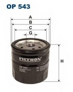 фото: [OP543] Filtron Фильтр масляный