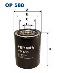фото: [OP588] Filtron Фильтр масляный