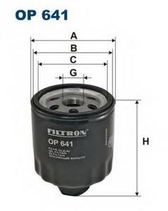 фото: [OP641] Filtron Фильтр масляный