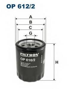 фото: [OP6162] Filtron Фильтр масляный