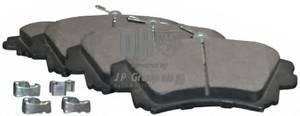 фото: [6163600219] JP Group Колодки тормозные передние комплект на ось