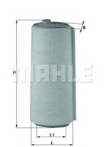 фото: [LX823] Knecht (Mahle Filter) Фильтр воздушный