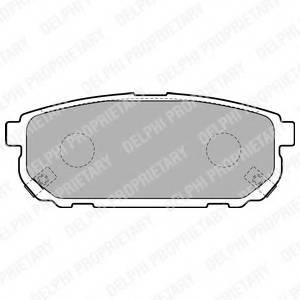 фото: [LP1850] Delphi К-т торм. колодок Re KIA Sorento
