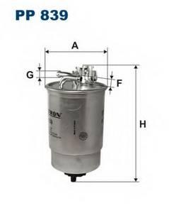 фото: [PP839] Filtron Фильтр топливный
