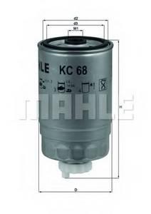 фото: [KC68] Knecht (Mahle Filter) Фильтр топливный