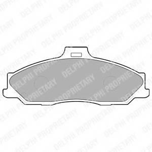 фото: [LP1555] Delphi К-т торм. колодок Fr  MA B-Series, FO  Ranger 06-