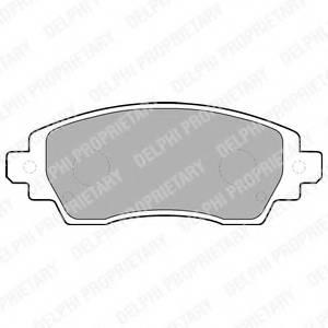 фото: [LP1560] Delphi К-т торм. колодок