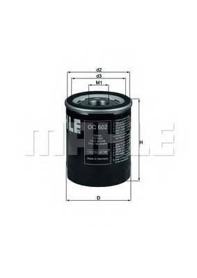 фото: [OC602] Knecht (Mahle Filter) Фильтр масляный