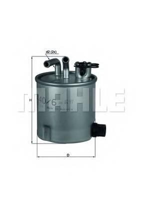фото: [KL440/6] Knecht (Mahle Filter) Фильтр топливный