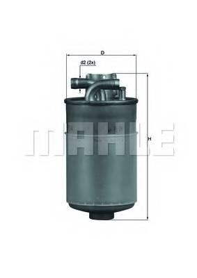 фото: [KL154] Knecht (Mahle Filter) Фильтр топливный
