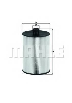 фото: [KX226D] Knecht (Mahle Filter) Фильтр топливный