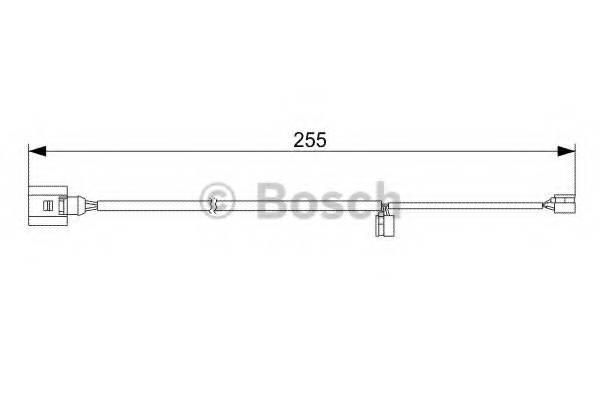 фото: [1987473013] Bosch Датчик износа тормозных колодок