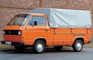 VW TRANSPORTER II c бортовой платформой/ходовая часть