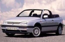 VW GOLF III Cabriolet (1E7)