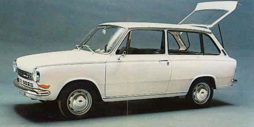 DAF 55 купе