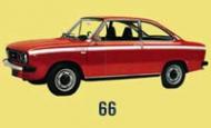 DAF 66 купе