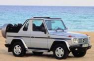 MERCEDES-BENZ G-CLASS Cabrio (W463)