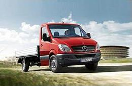 MERCEDES-BENZ SPRINTER 3,5-t c бортовой платформой/ходовая часть (906)