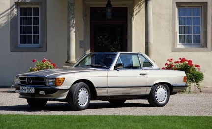 MERCEDES-BENZ SL (W121)