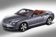 BENTLEY CONTINENTAL кабрио (3W_)