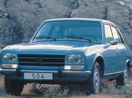 PEUGEOT 504 кабрио