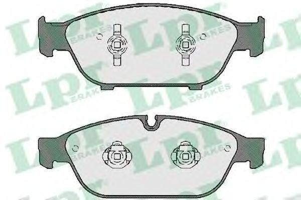 Комплект тормозных колодок, дисковый тормоз LPR 05P1743
