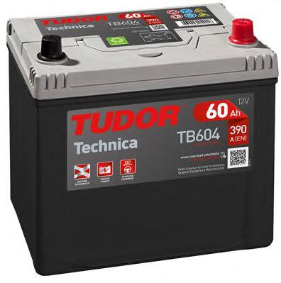 Стартерная аккумуляторная батарея; Стартерная аккумуляторная батарея TUDOR TB604
