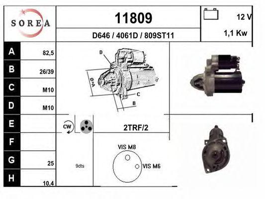 Стартер EAI 11809