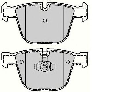 Комплект тормозных колодок, дисковый тормоз COMLINE ADB01742