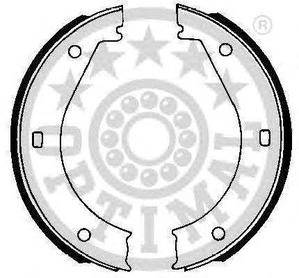 Комплект тормозных колодок OPTIMAL BB-4040
